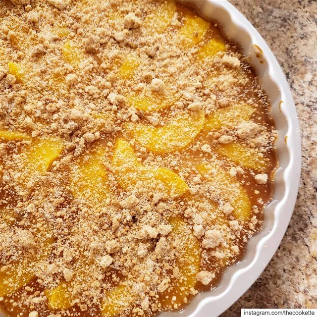 When you feel like peach cobbler, cheesecake and tart... you make a peach... (Greater Montreal)