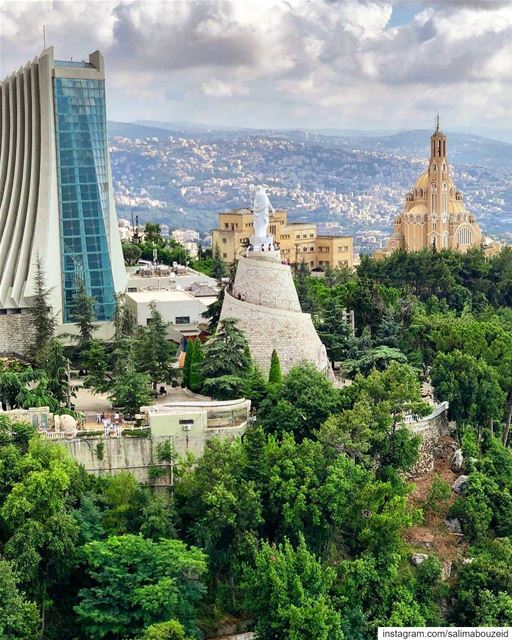 """If Lebanon were not my country, I would have chosen Lebanon for Homeland."" (The Lady of Lebanon - Harissa)"