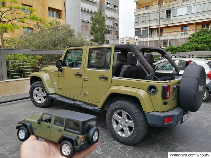 minime jeep wrangler jeepwrangler diecast collector maisto scale... (Beirut, Lebanon)