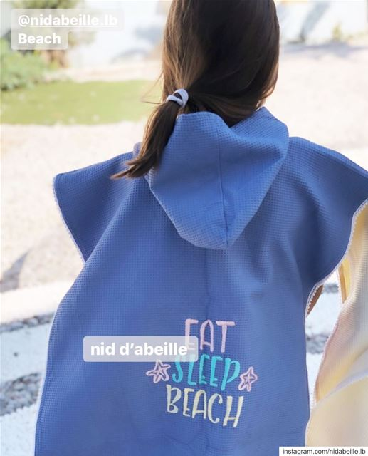 Eat. Sleep. Beach. Write it on fabric by nid d'abeille  eatsleepbeach ...