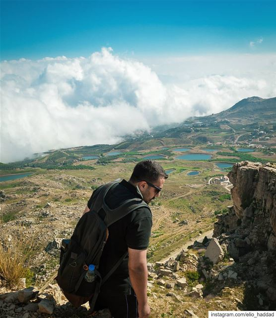 Lebanon  Top  Mountains  Sky  Clouds  Hiking  Adventure  Summer  Nature ... (Akoura, Mont-Liban, Lebanon)