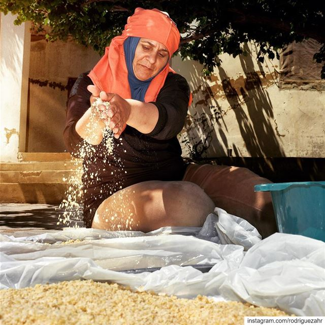 The  kechek  making has started in the  Lebanese  rural regions. A...