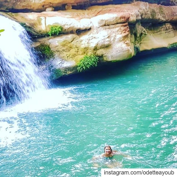 Swimming in the beautiful river of  serjbel  ptk_lebanon  super_lebanon ... (Serjbel)