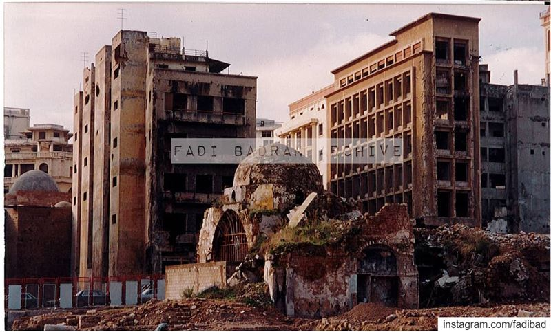 The downtown collection is a series of analog photos taken in the early 90' (Beirut, Lebanon)