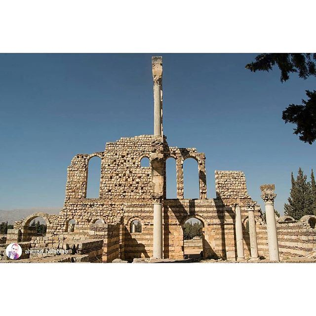 Good morning from Anjar (`Anjar, Béqaa, Lebanon)