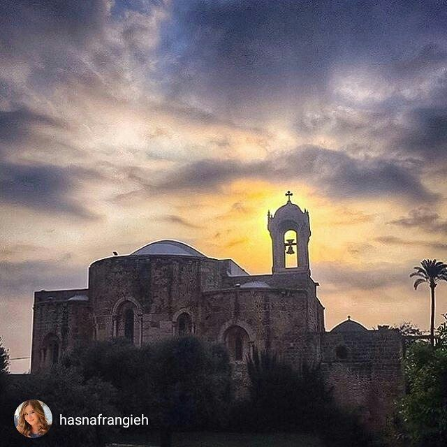 Have a blessed Sunday from Byblos  (St Jean Marc Church, Byblos)