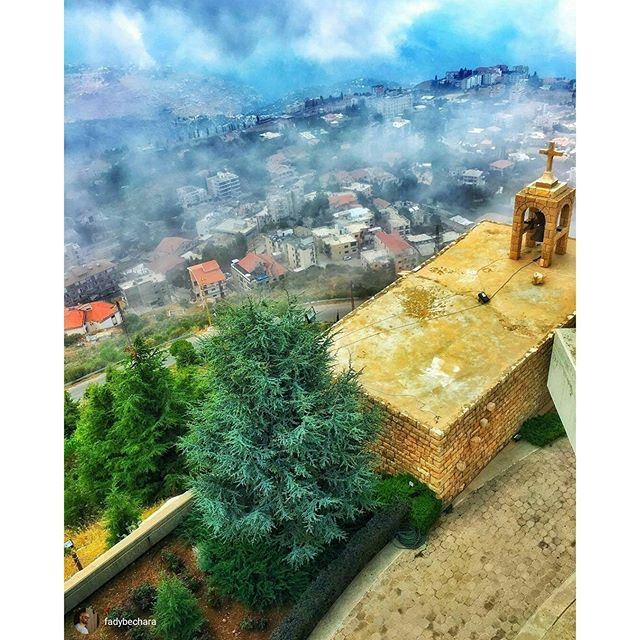 Wishing you a blessed Sunday from Ehden  (Saydet El Hosn - Ehden)