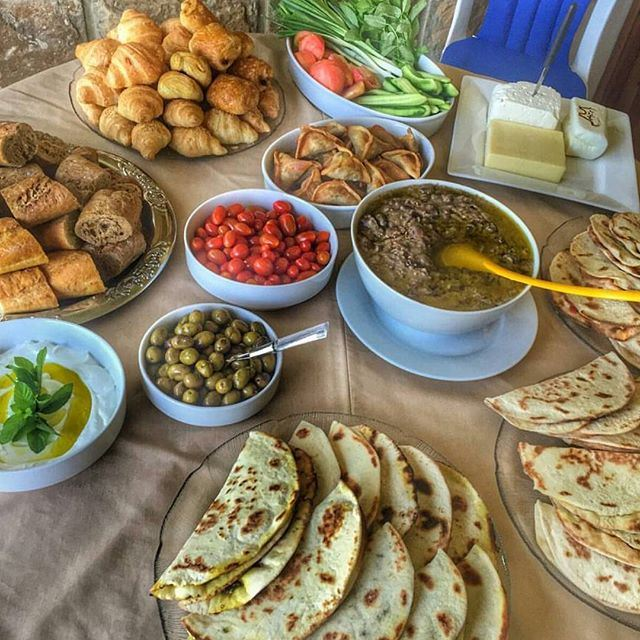 This is lebanese Sunday Breakfast!!!