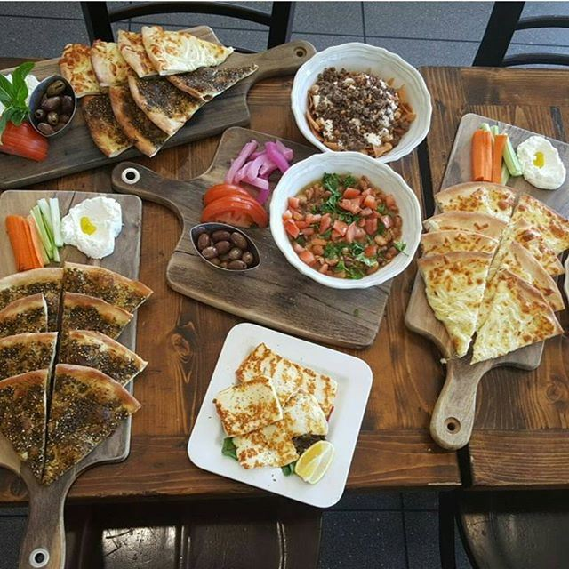 The perfect day for me start with yummy Lebanese Breakfast