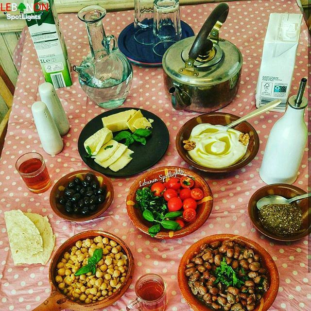 After your coffee don't forget the  Lebanese Breakfast, full of everything!!!