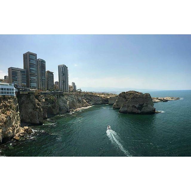 Beirut another surprisingly amazing City. (Raouché)