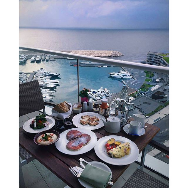 Good Morning | When you wake up to this!! (Four Seasons Hotel Beirut)