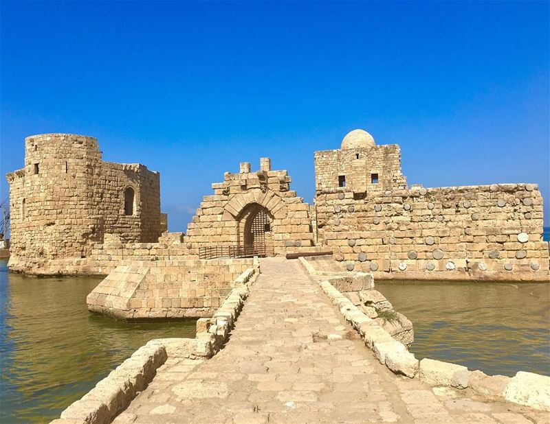 History is a child building a sand castle by the sea (Saida The Sea Castle)