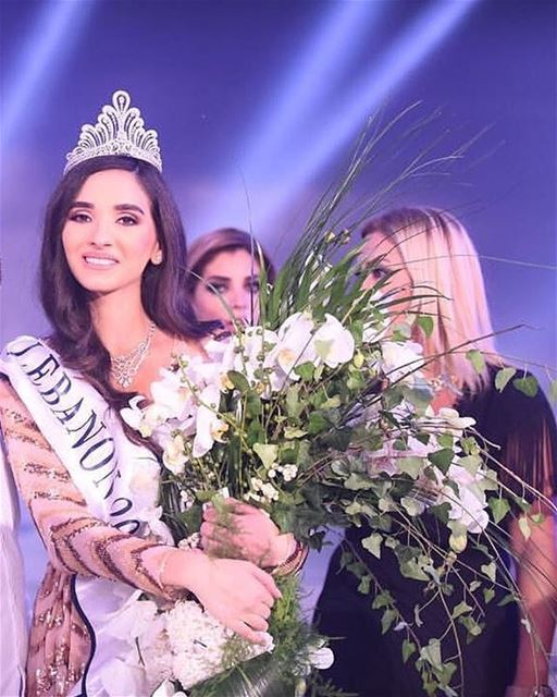 That was the best moment of my life!!  (Miss Lebanon 2016)