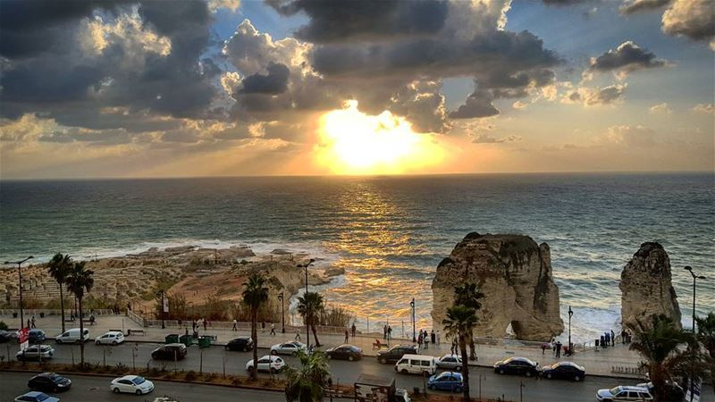 Amazing sunset (Beirut)
