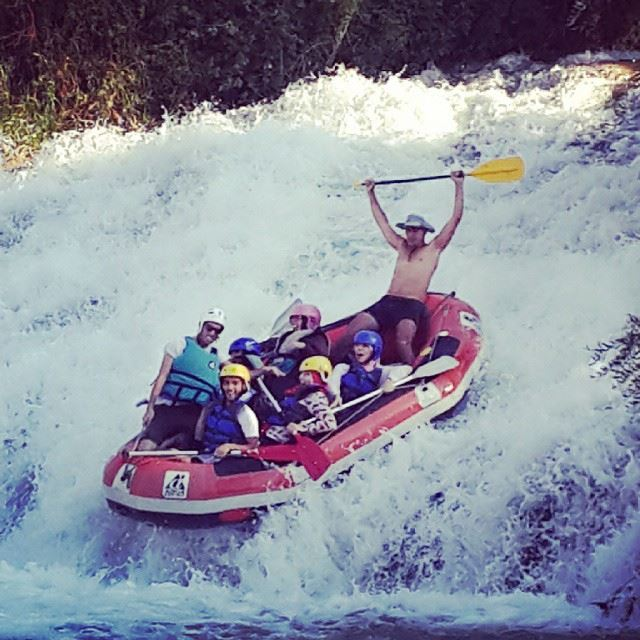 Crazy rafting with great team (Hermil)