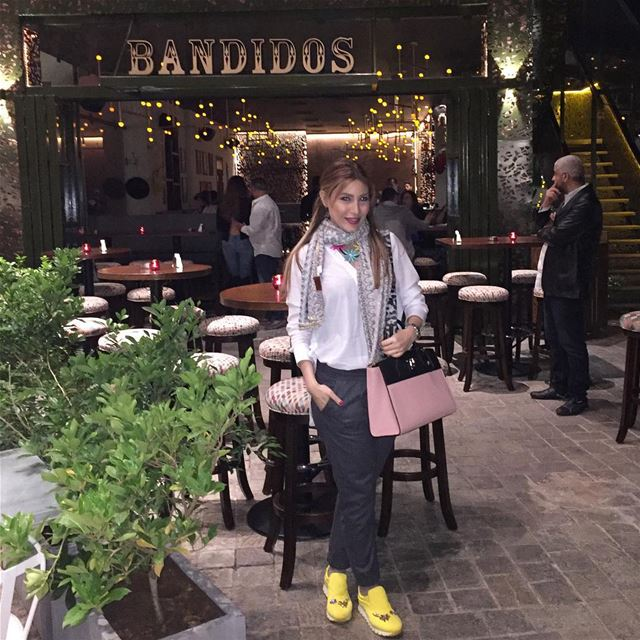 Feeling excited to have the best Mexican food tonight at bandidos resto  (Bandidos)