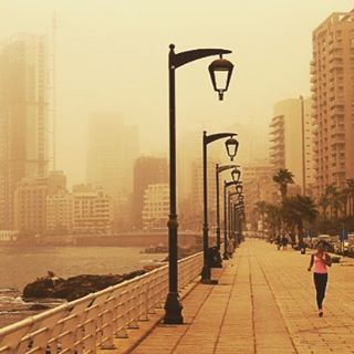 Would you dare? werunbeirut runnersarecrazy lebanonduststorm runnersoflebanon