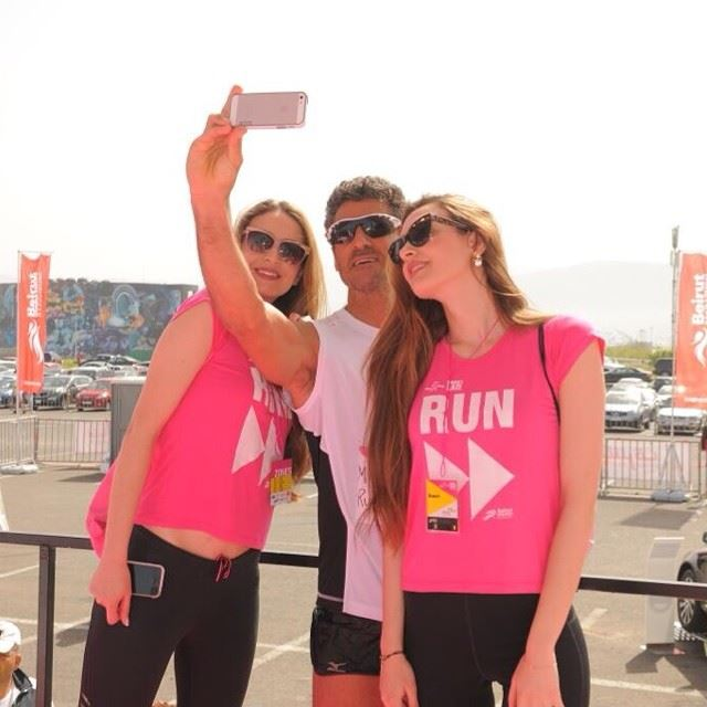 best lebanese selfie womensrace runforward4 sports misslebanon