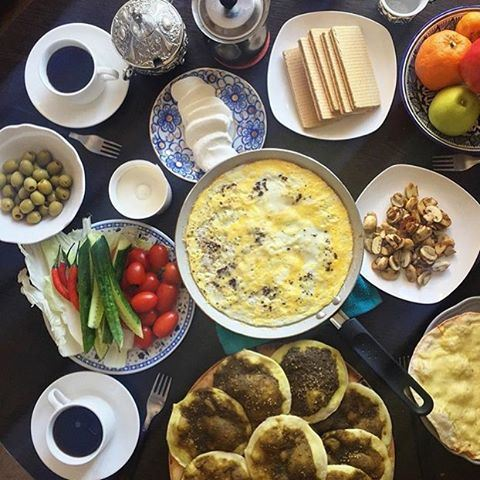 A delicious homemade breakfast ☀️🍴 Photo by @ani_hayat