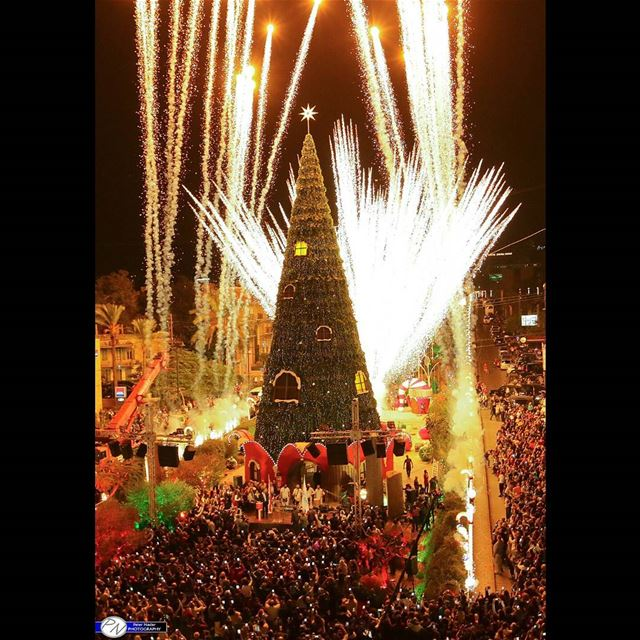 Christmas Lights Begin (Byblos, Lebanon)
