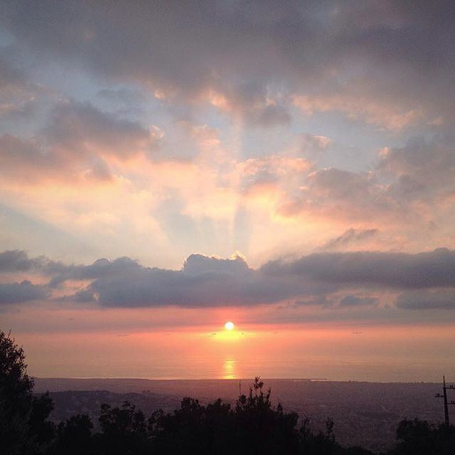I can't call it the sunSET. For me that's the sun goes ahead. (Deir El Kalaa-Beit Meri)