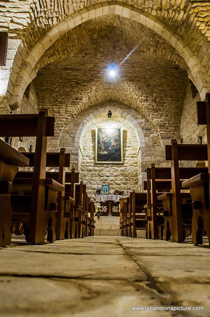 Our Lady of the Annunciation Church and Monastery - سيدة البشارة (Sahel Alma, Kesrwan, Lebanon)