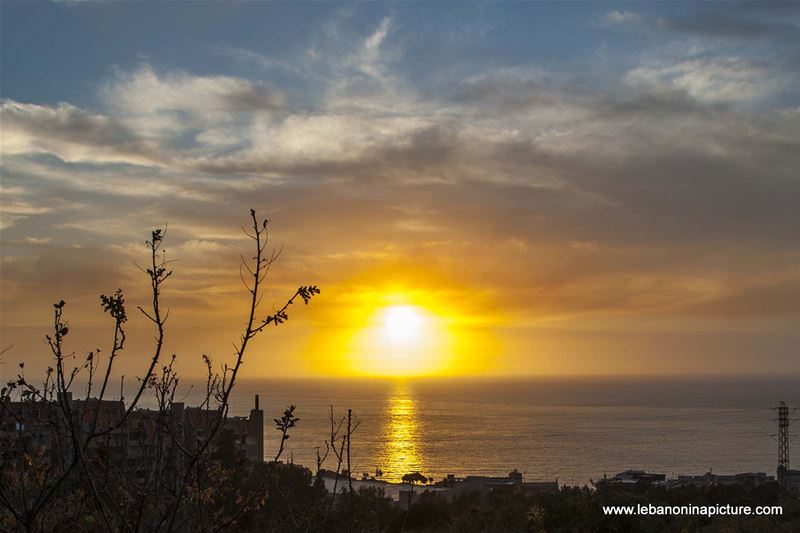 Sunset Over Jounieh Bay (Sahel Alma)