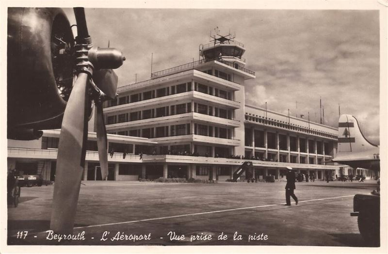 Beirut International Airport  1950s