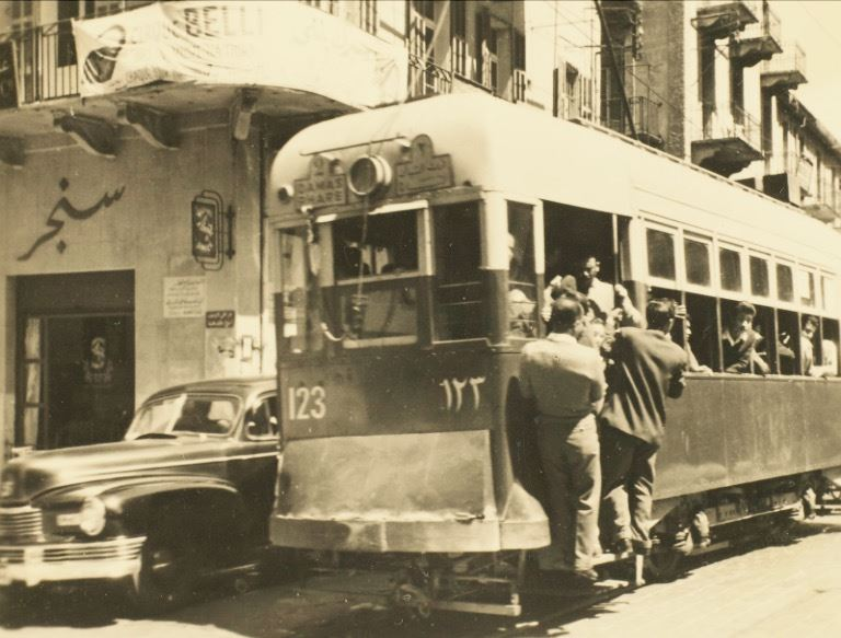 Tramway on Weygand Street  1950s