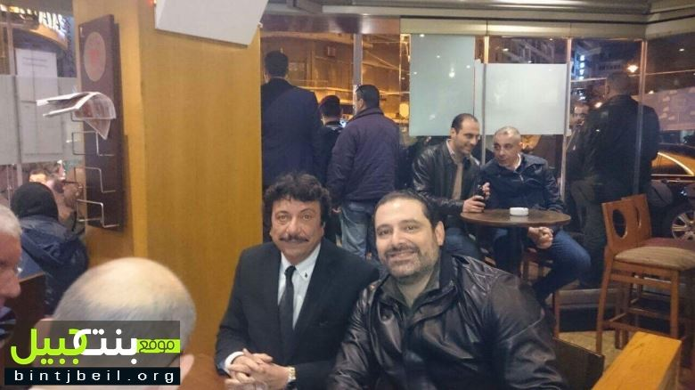 PM. Saad el Hariri Visiting Costa In Hamra Street where the terrorist was going to blow himself yesterday