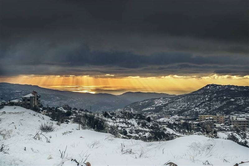 Lebanon  Winter  Snow  Weather  Sky  Clouds  Sky  Lights  Nature  Colors ...