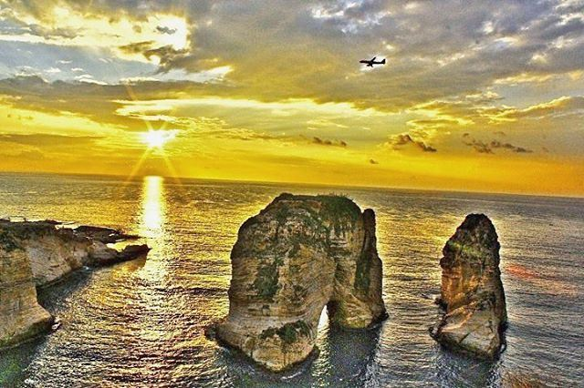 Good Evening from  Rawshe 🌅🇱🇧 (Rawshe-beirut)