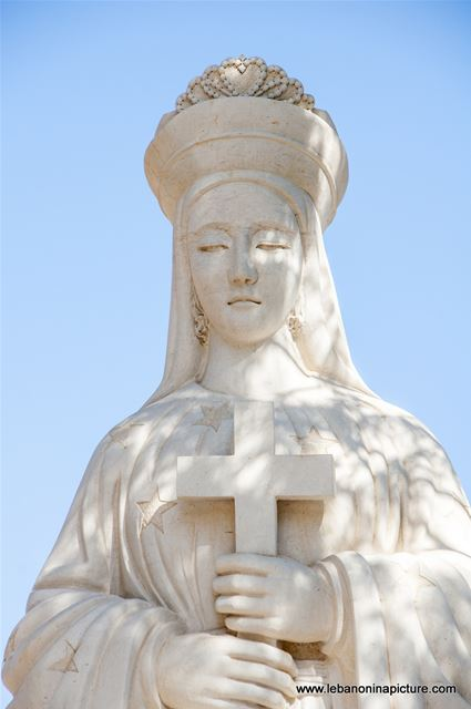 Saydet Bechouat - Saint Marry Statue Face