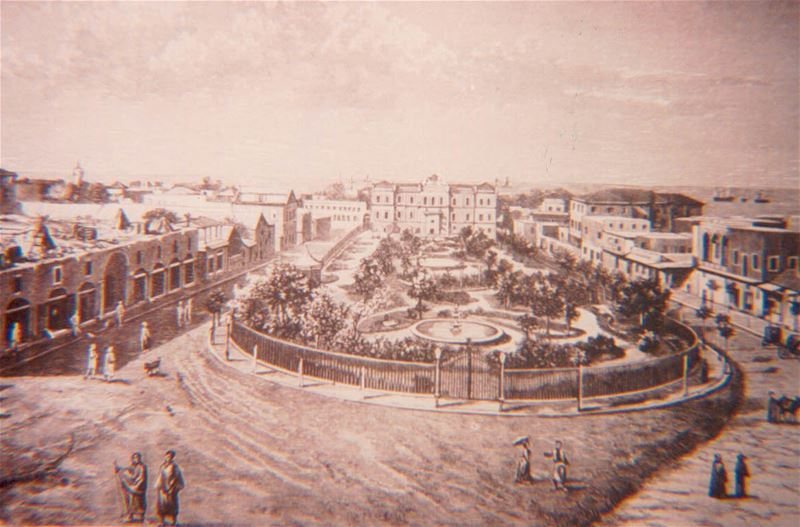 Martyrs square - Beirut - 1891 -