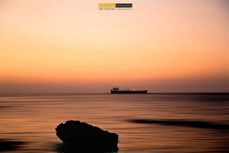 photo  fadiaounphotography  byblos  sea  seascape  sunset  photoinsta ...