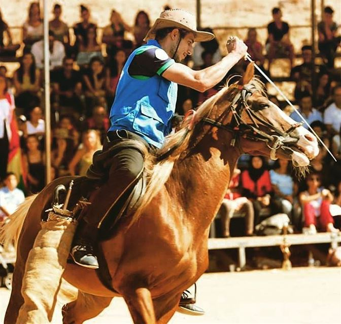 photo  fadiaounphotography  otv  program  horse  game  lebanon ...