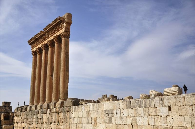The Temple of Jupiter in Baalbe (Baalbek, Lebanon)