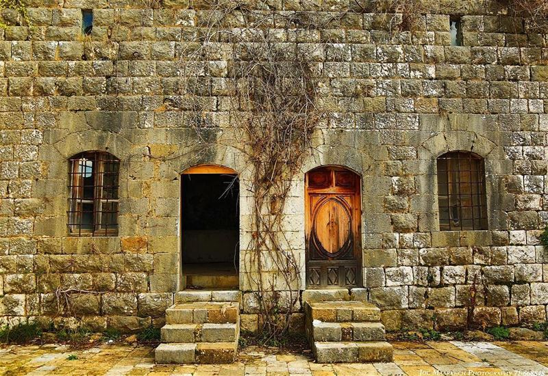 When one door closes, another opens; but we often look so long and so... (Aramoun, Mont-Liban, Lebanon)