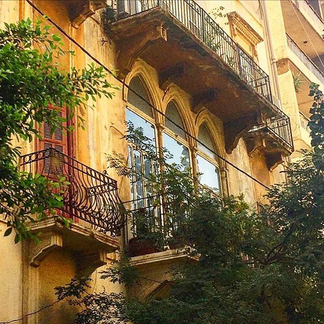 The best parts of us are always well hidden  balcony  arches ... (Hamra - حمراء)