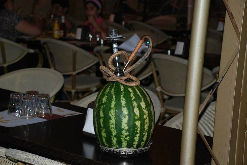 Shisha in watermelon