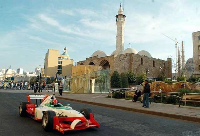 F1 Car Made in Lebanon