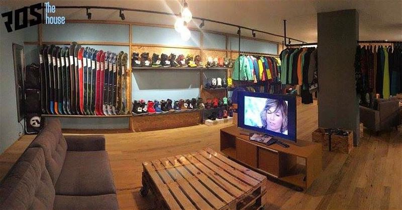 Your home away from home  rosthehouse  snow  snowbaord  snowboardgear ... (Republic of Sports - The House)