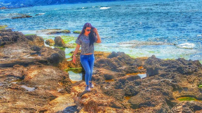 Wanting an amazing summer adventure 💜🌊🌞 stephanie  bestoftheday ... (Anfeh - Koura)