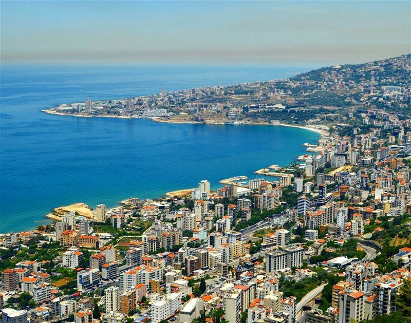 Overlooking the jounieh bay beautifulview  jounieh  jouniehbay ...