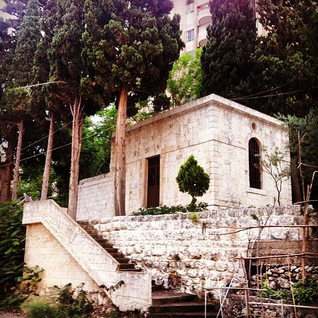 old  small  church  mature  jounieh  Lebanon...