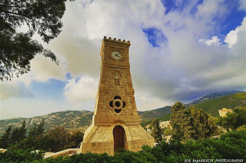 You can never lose time and get it back again...  ghazir  lebanon  clock ... (Ghazir, Mont-Liban, Lebanon)