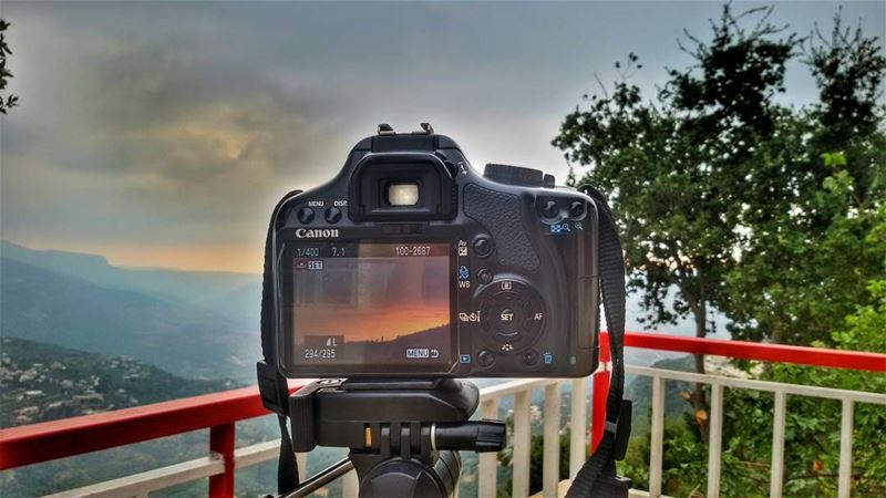 sunset  shootingtime  camerashot  canon view  sunset_pics ...