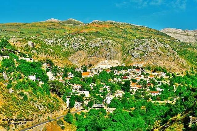 The beautiful Tannourine 😍 | Join me on Facebook for more pictures ╰▶... (Tannourine)