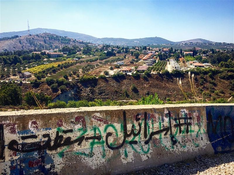down to  israel  downtooccupation  noforoccupation   leo  love  soul ... (Lebanon-Palestine Border)